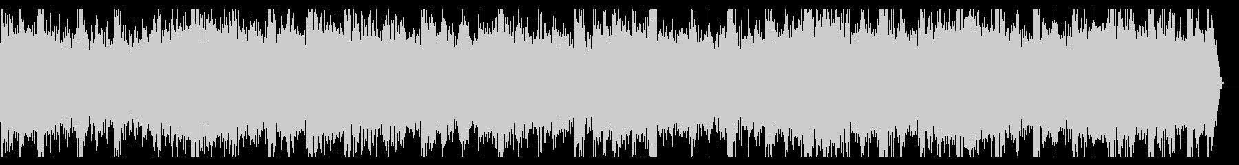 明るい曲調のジングル(14秒)の未再生の波形