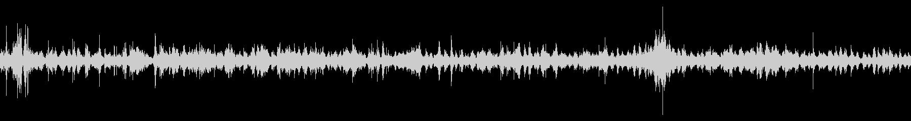 [自然環境音][生録音] 海の音 砂浜の未再生の波形