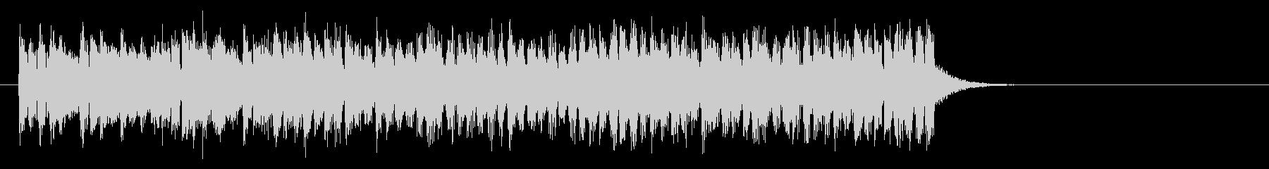 元気なヒューマンポップス(イントロ)の未再生の波形