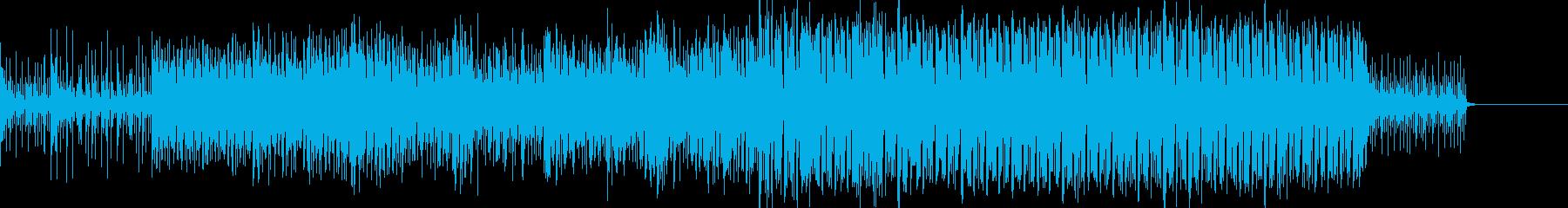 アフリカの音をとらえた明るい世界音...の再生済みの波形