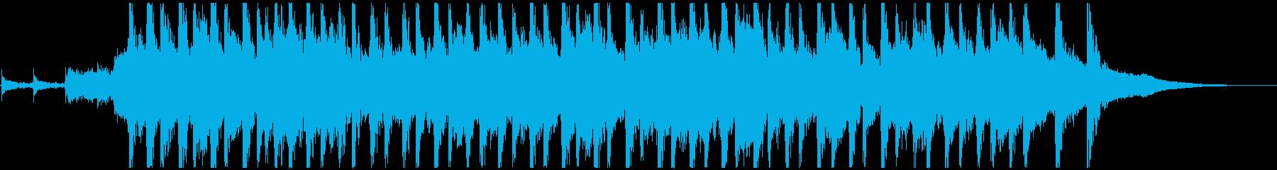 ピッチカート 可愛いマリンバ ジングルの再生済みの波形