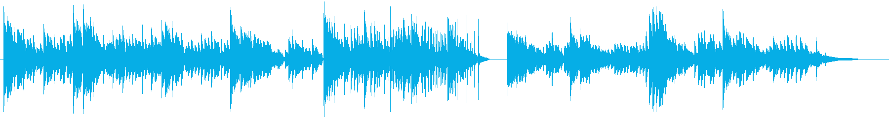 生演奏:ソロピアノ/不気味な館/ホラーの再生済みの波形