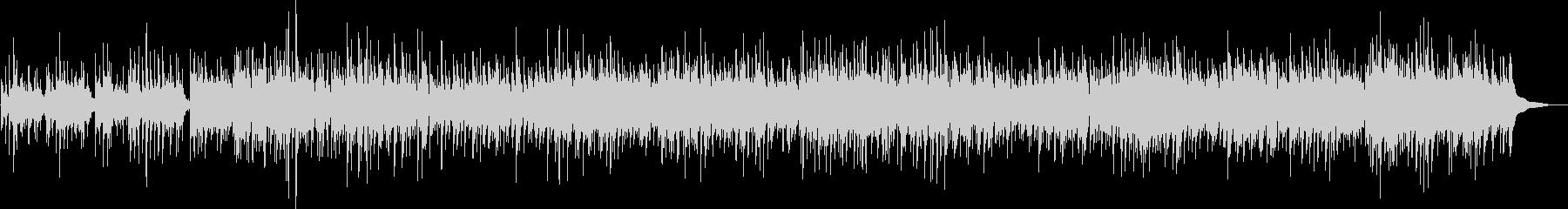 南米の民族楽器によるヒーリング曲の未再生の波形