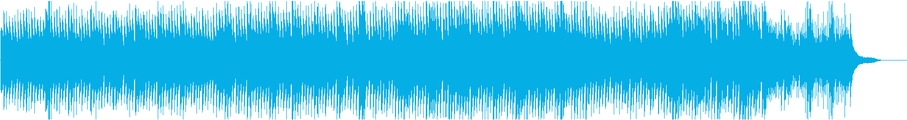 ピアノで優しく力強くの再生済みの波形