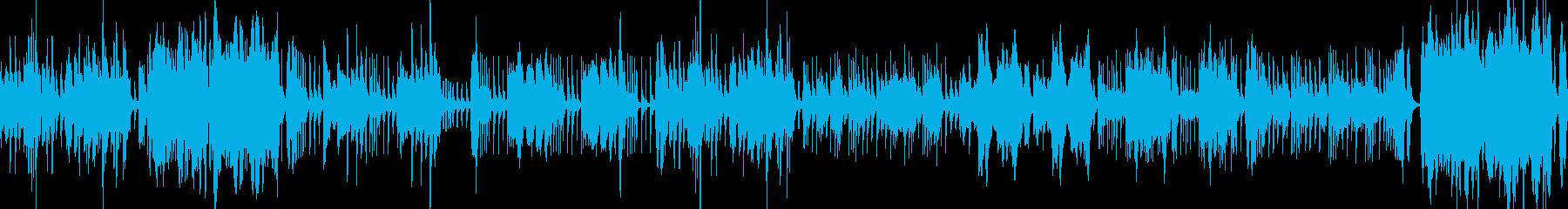 オーケストラ・コミカル・音質改善verの再生済みの波形