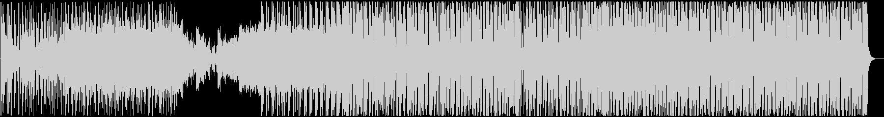 壮大で綺麗めなドラムンベースBGMの未再生の波形