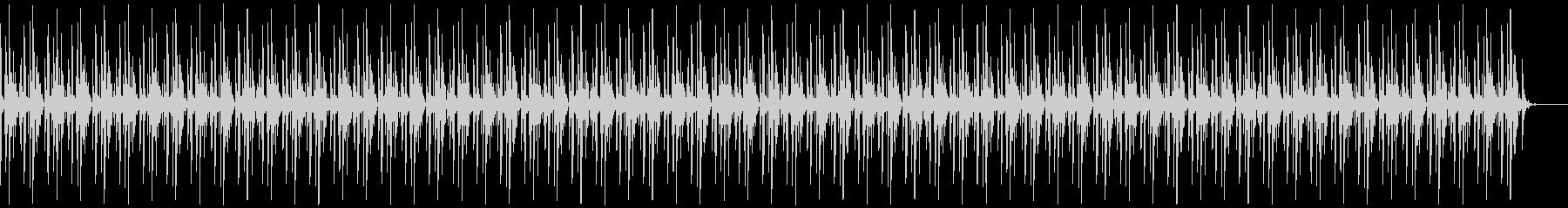 [ニュース報道]無機質:フラット:03の未再生の波形