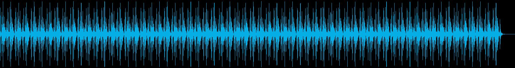 [ニュース報道]無機質:フラット:03の再生済みの波形