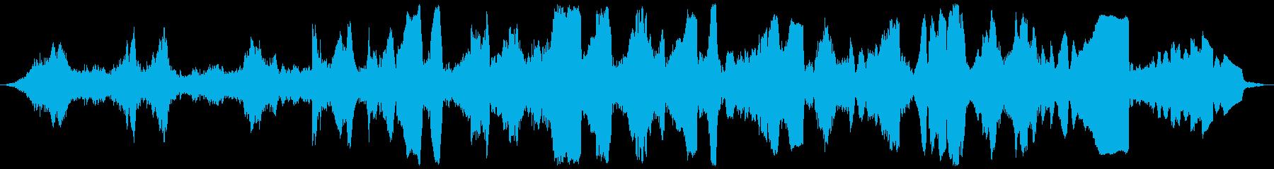 ホテルロビーの再生済みの波形