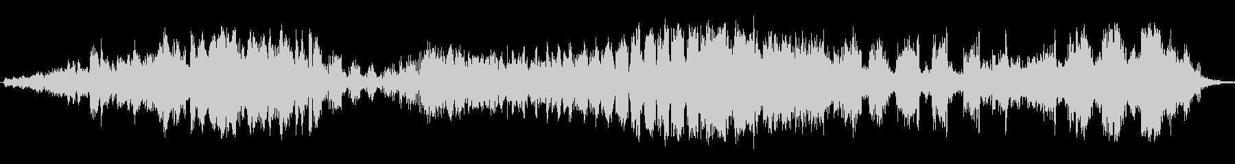 ピアスエネルギースイープの未再生の波形