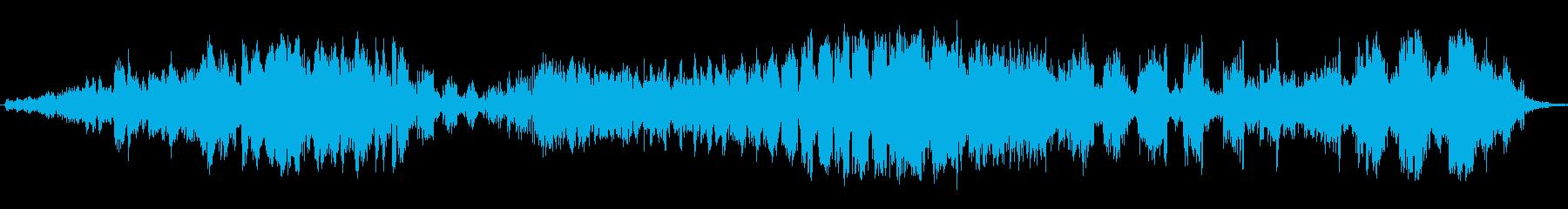 ピアスエネルギースイープの再生済みの波形