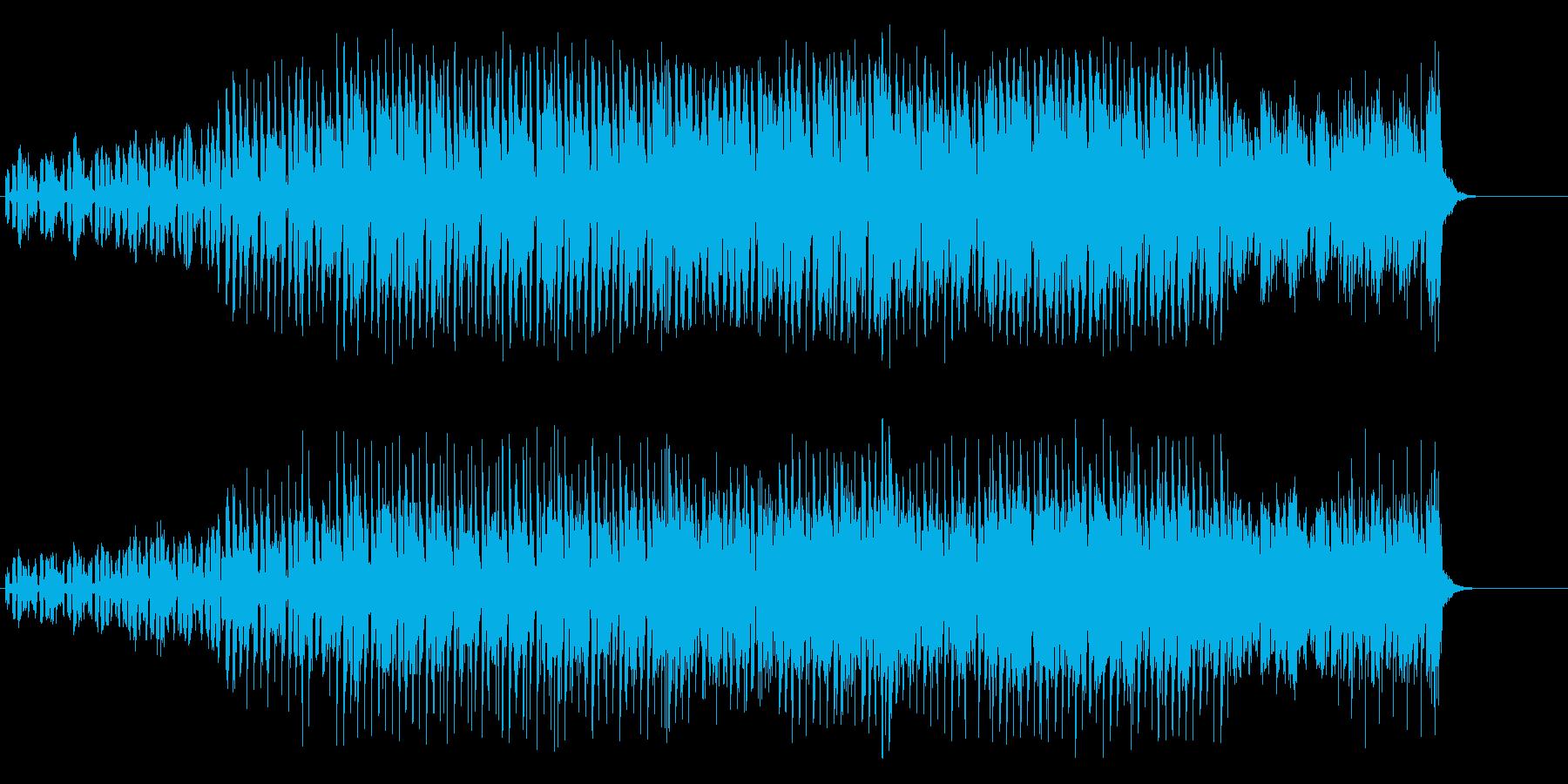 クラブ風マイナー・ポップスの再生済みの波形
