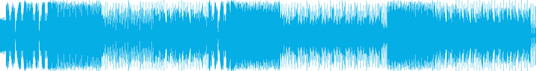 少し切ないエレクトロニカの再生済みの波形