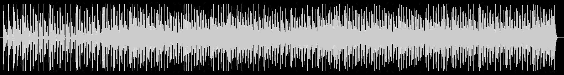 シンプルでクールなドラムンベース風BGMの未再生の波形