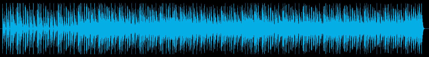 シンプルでクールなドラムンベース風BGMの再生済みの波形