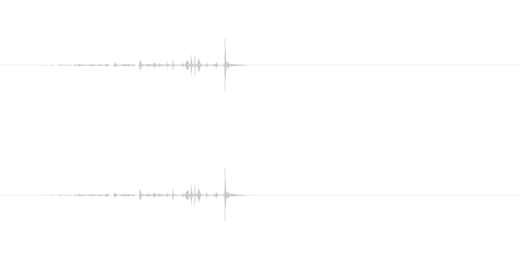 【ハサミ03-2(紙を切る)】の未再生の波形