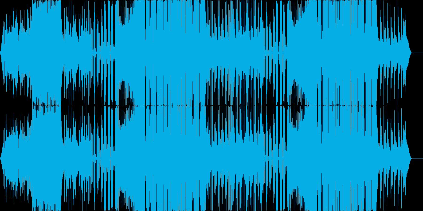 お洒落・カワイイEDM、CMやPVなどにの再生済みの波形