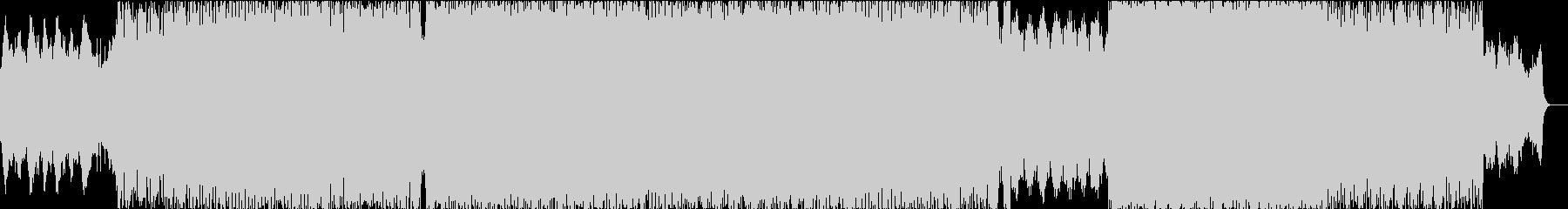 ダークでエピックな戦闘曲の未再生の波形