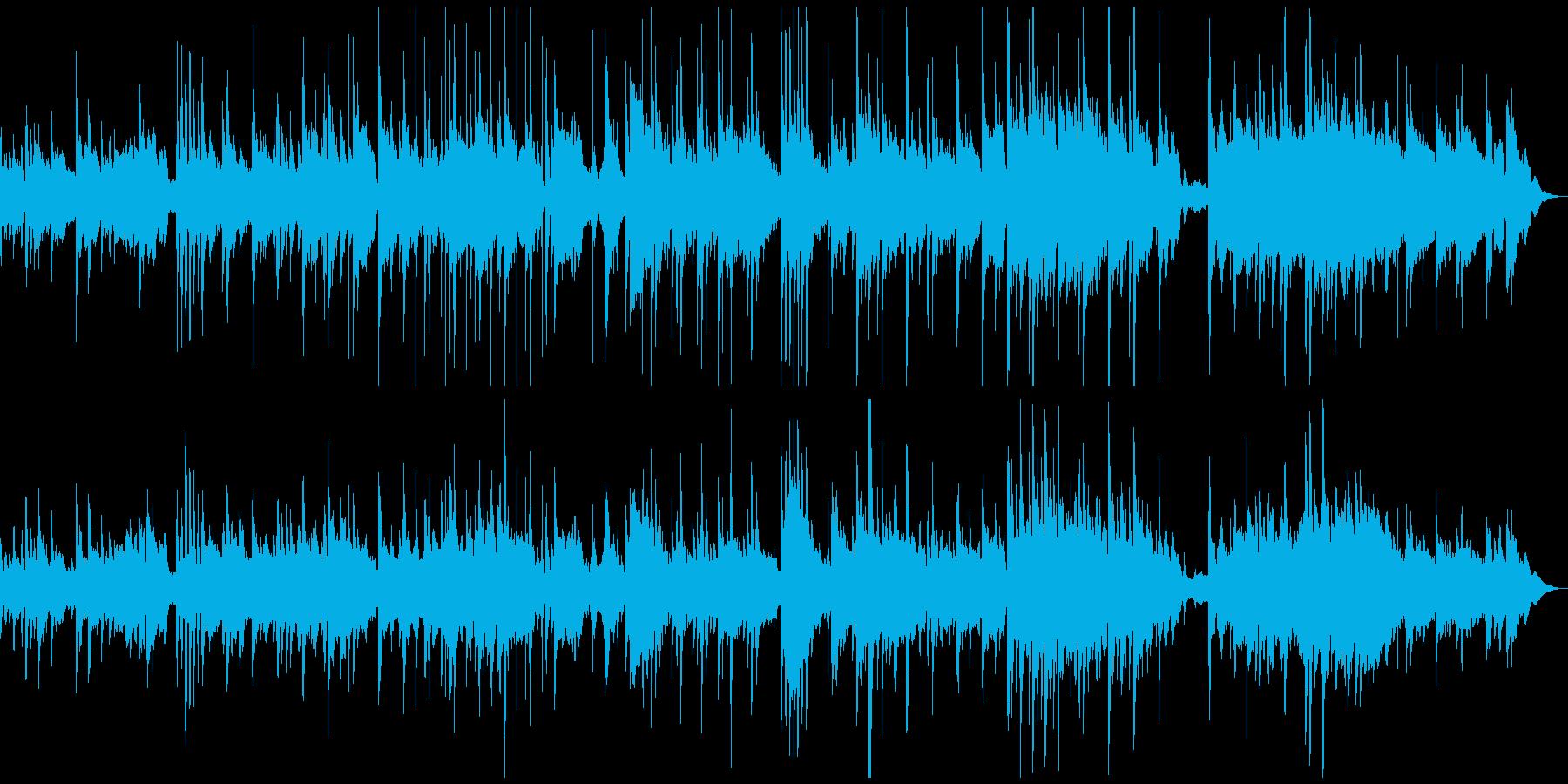 サラサラ ジャズ ブルース 民謡 ...の再生済みの波形