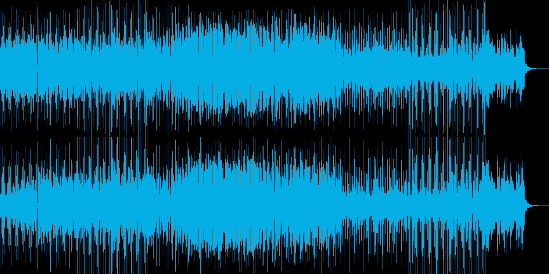 明るくて元気で優しくなれるポップス曲の再生済みの波形