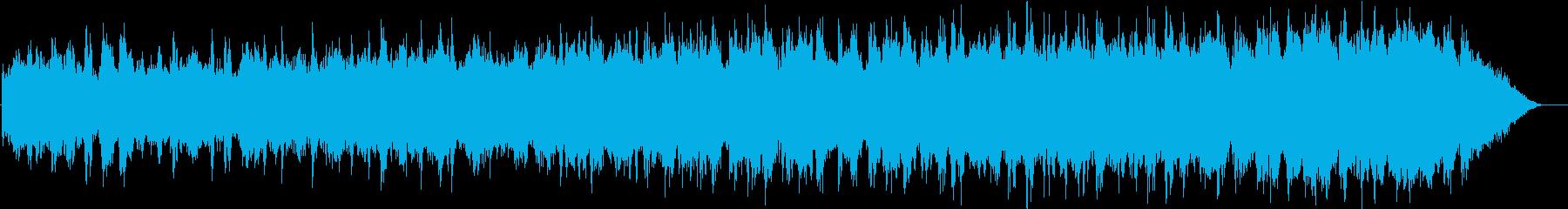 古いノスタルジックなイタリア映画風の曲の再生済みの波形