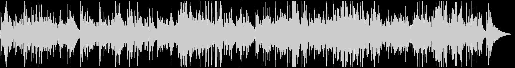 カフェ・旅・映像 ゆったりジャズ風ピアノの未再生の波形