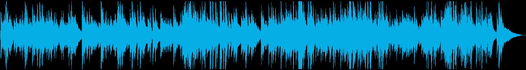 カフェ・旅・映像 ゆったりジャズ風ピアノの再生済みの波形