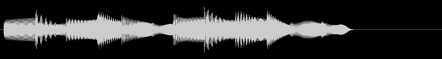 KANTアイキャッチソフト電子音2の未再生の波形