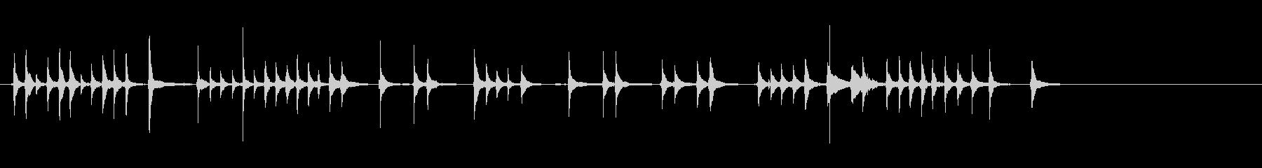 三味線36娘道成寺15日本式レビューショの未再生の波形