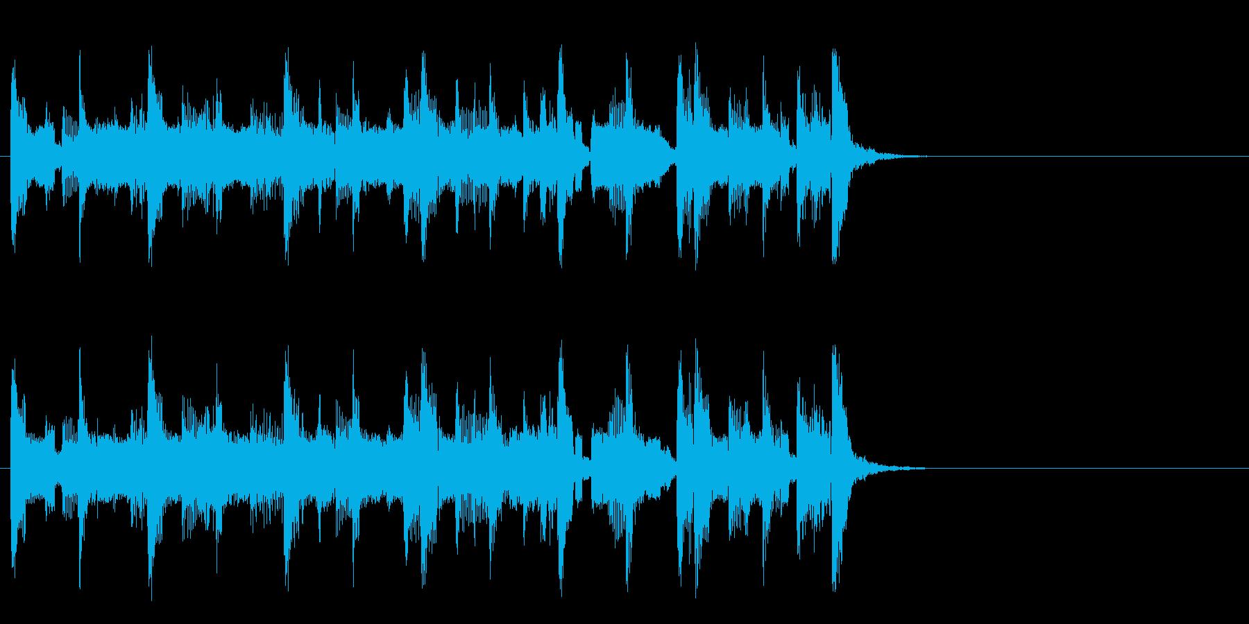 コミカルなほのぼのポップ(Aメロ)の再生済みの波形