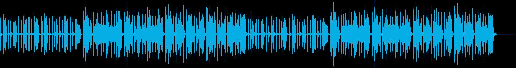 黙々と進むシーン向けホーン&マリンバ♪の再生済みの波形