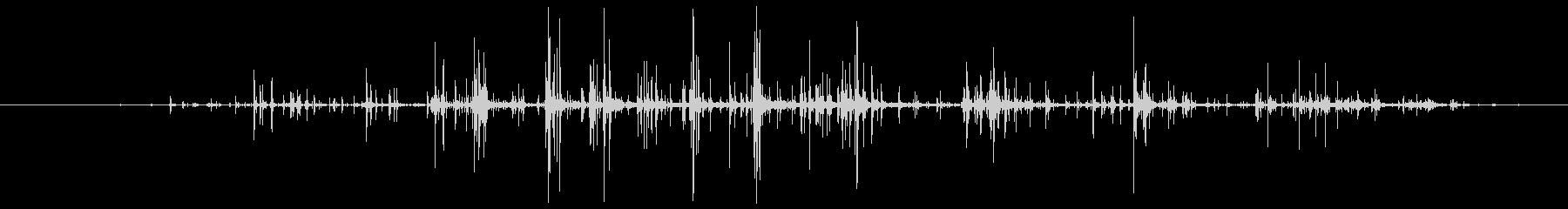ダクトテープのロール:ショートピー...の未再生の波形