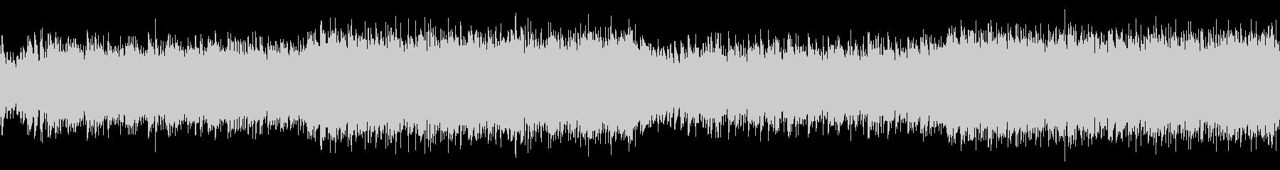 ループ・躍動的なフラメンコEDMの未再生の波形