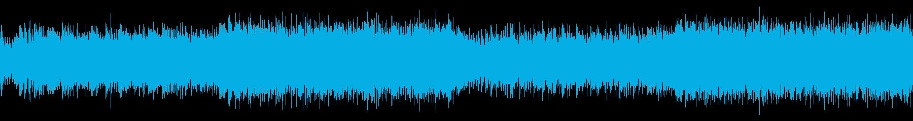 ループ・躍動的なフラメンコEDMの再生済みの波形