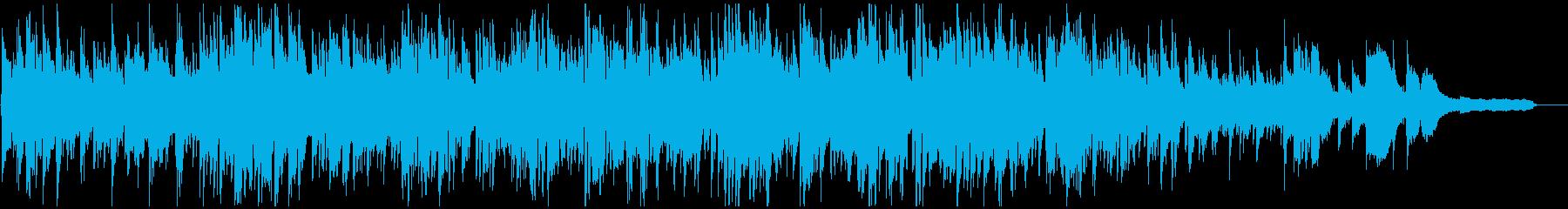 爽やかなボサノバ、素敵なサックスの音色の再生済みの波形