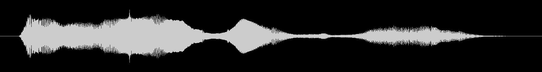 鳴き声 女性戦闘ダイ05の未再生の波形
