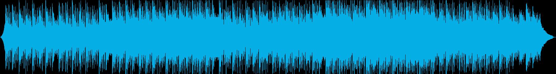 明るく、前向き、ポジティブなコーポレートの再生済みの波形