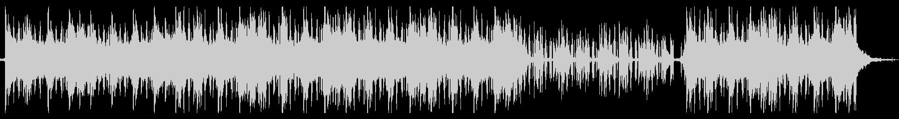 浮遊感のあるジャズLo-Fi Beatsの未再生の波形