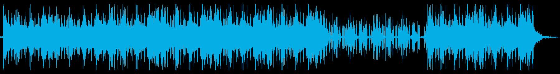 浮遊感のあるジャズLo-Fi Beatsの再生済みの波形