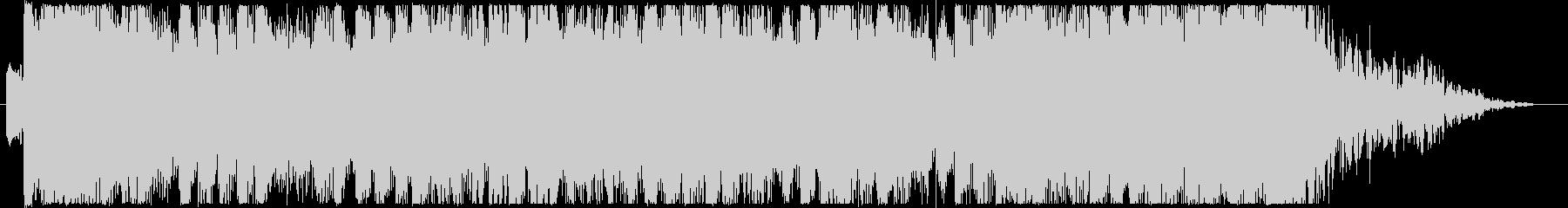 ジングル - 雨上がりの空の未再生の波形