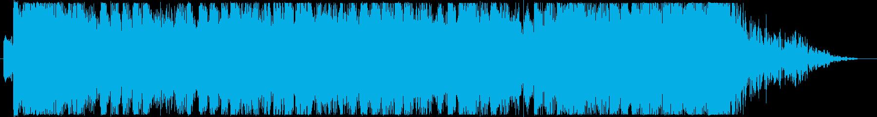 ジングル - 雨上がりの空の再生済みの波形