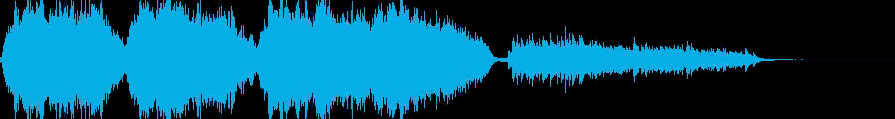 サン=サーンス動物の謝肉祭「水族館」冒頭の再生済みの波形