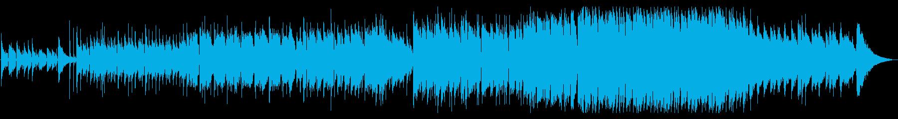 心の荒んだ歌詞のアコースティックバラードの再生済みの波形