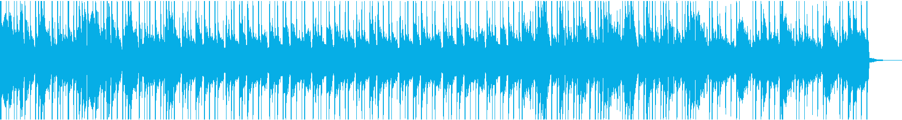 気だるい旅をしているブルース・カウボーイの再生済みの波形