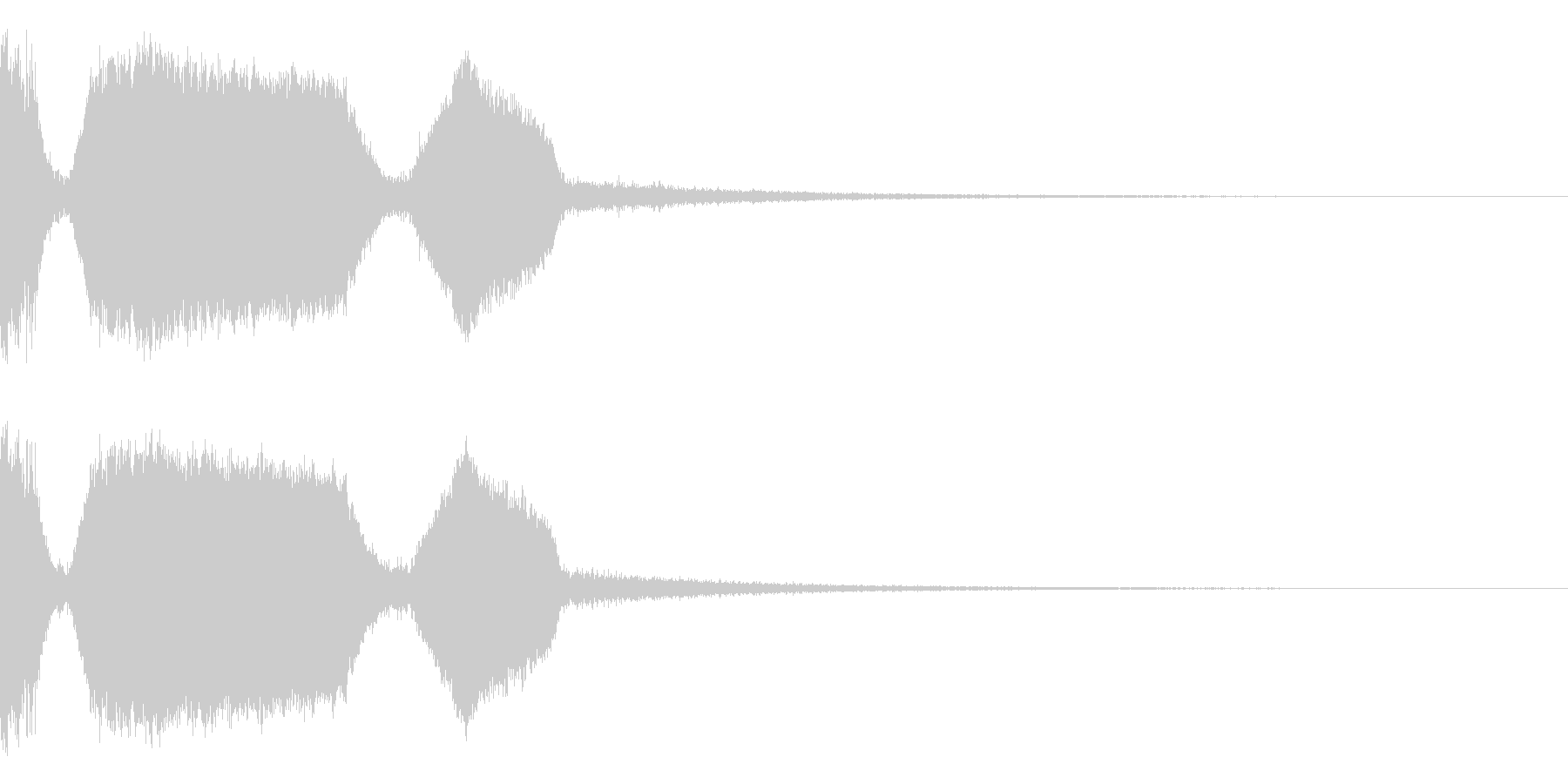 DJFX ヒットチャート発表前SE 17の未再生の波形