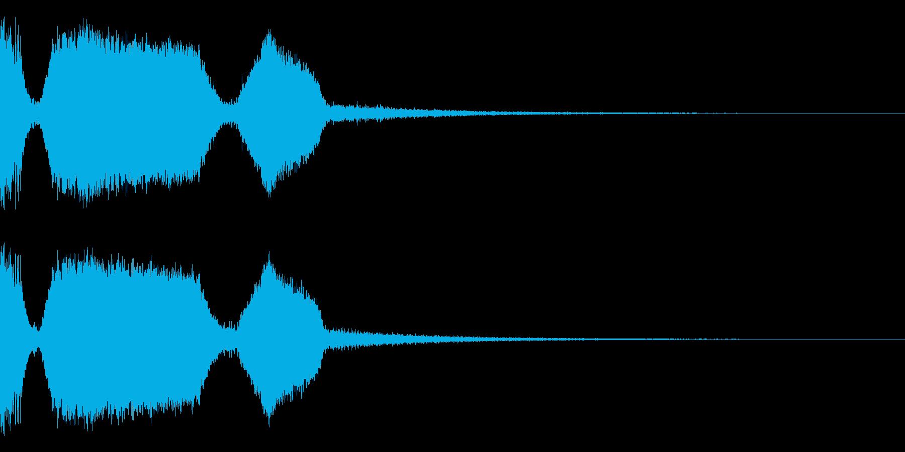 DJFX ヒットチャート発表前SE 17の再生済みの波形