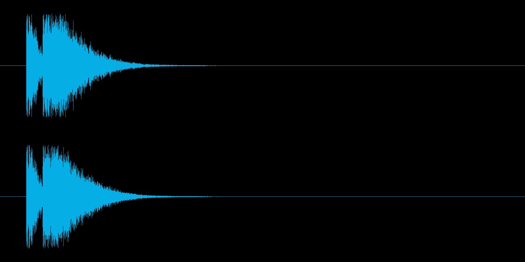 ビームライフル1★リバーブ有の再生済みの波形