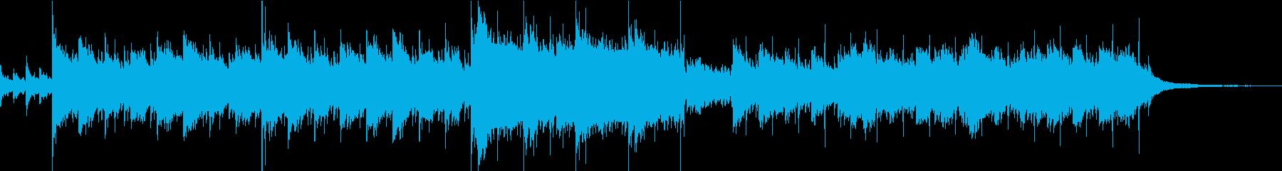企業VPや映像/夜空・感動ストリングスの再生済みの波形