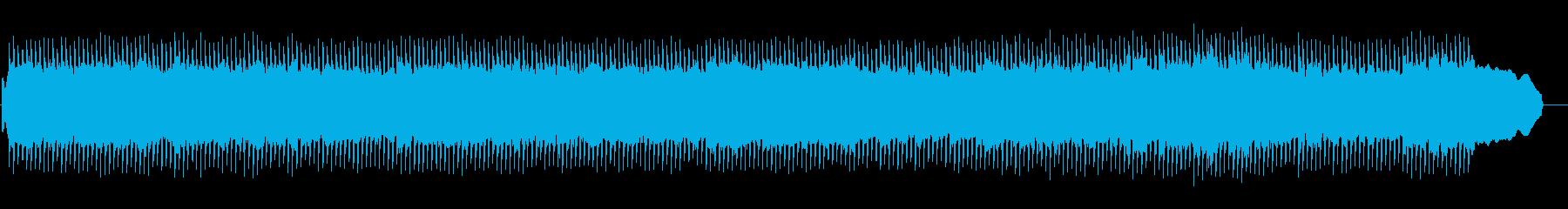 穏やかなコーポレートの再生済みの波形