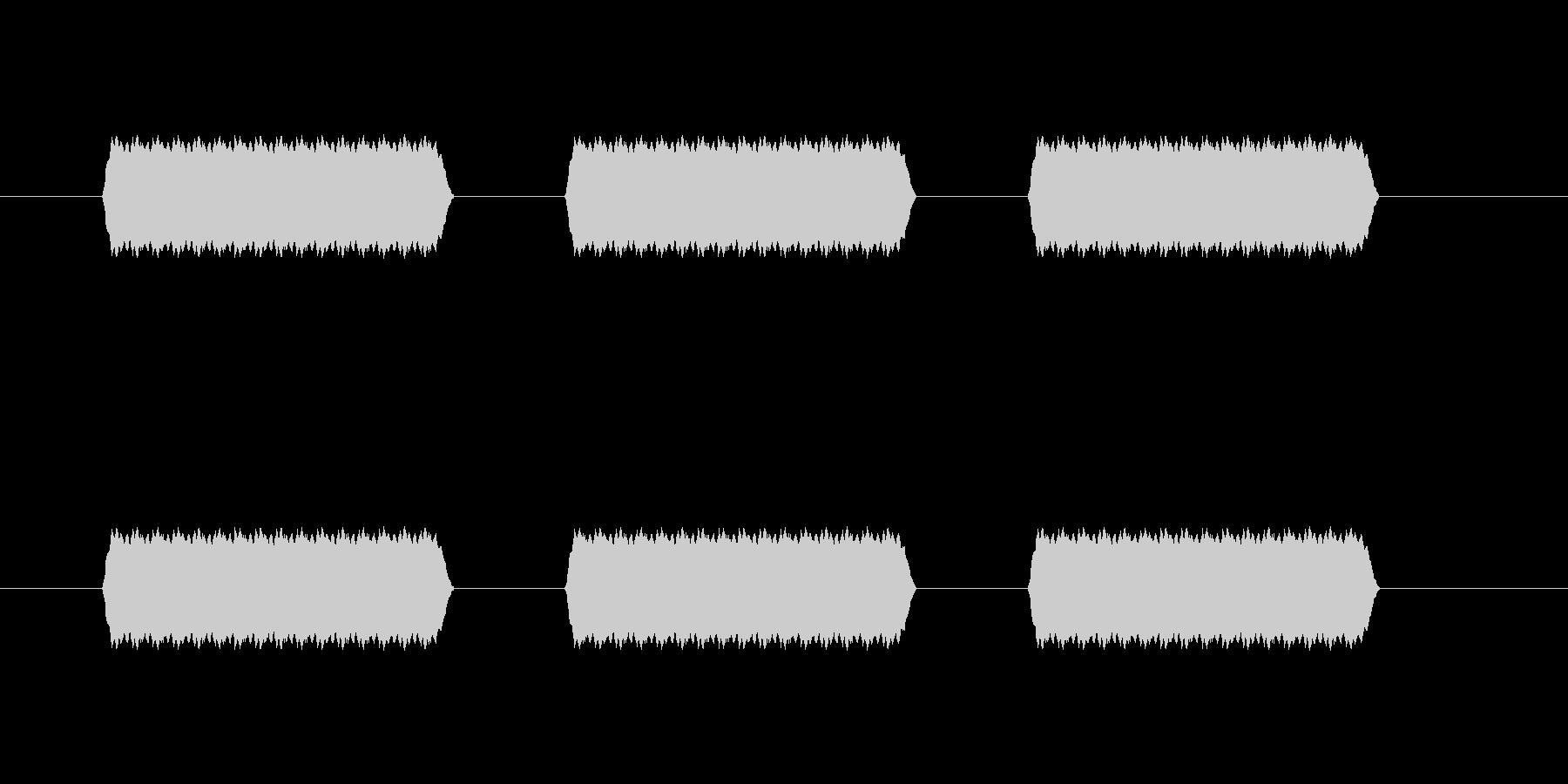 【汎用・セリフ音等】ピピピ(さらに高)の未再生の波形